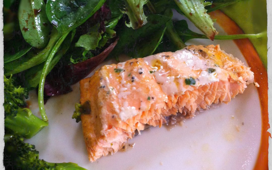 Marzia's recipe BBQ Salmon